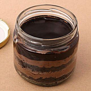 Set of 2 Robust Coffee Jar Cake: Raksha Bandhan Cakes