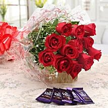 Set To Please: Christmas Flowers & Chocolates