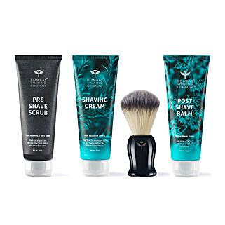 Shaving Essentials Value Kit For Men: Cosmetics & Spa Hampers