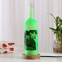 Shining Memory Personalized Lamp: Send Valentine Gifts to Amritsar
