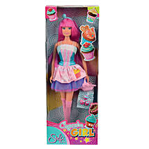 Simba Cupcake Girl Doll with Cool Dude Smiley: Toy Dolls