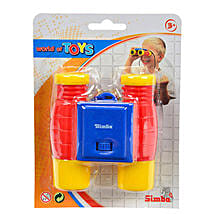Simba Plastic Binocular With Neckstring with Cool Dude Smiley: Gifts for Kids