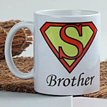 Sizzle With Superman Mug: Rakhi to Ambernath