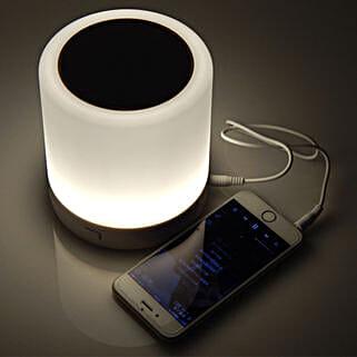 Smart Light Wireless Bluetooth Speaker: Funny Gifts