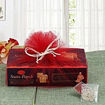 Soan Papdi Sweetness: Send Bhai Dooj Gifts to Hyderabad