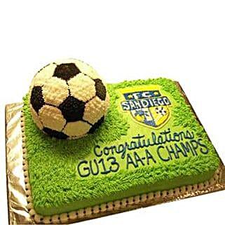 Soccer Cake: Cakes for Boss