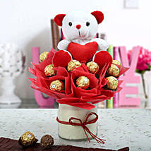 Soft And Chocolaty Surprise: Chocolate Bouquet for Kids