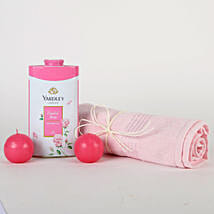 Soft Pink Gift Hamper: Womens Day Gifts for Mother