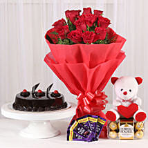 Some One Special: Flowers and Chocolates for Christmas