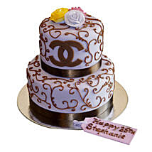 Special Chanel Cake: Multi Tier Cakes