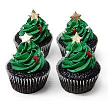 Special Christmas Tree Cupcakes: Cup Cakes to Gurgaon