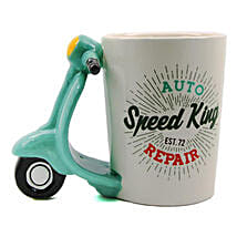 Speed King Unique Coffee Mug: Fathers Day Mugs