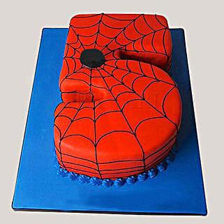 Spiderman Love Cake: Cake Delivery in Agra