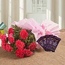 Spoil Rotten With Flowers N Flavours: Flowers & Chocolates for Her