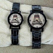 Stainless Steel Watch Set: Women's Watches