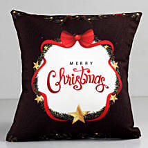 Starry Merry Christmas Cushion: Home Decor Gifts for Christmas