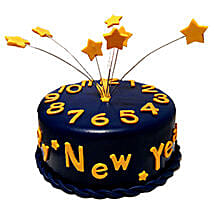 Starry New Year Cake: New Year Gifts for Friend