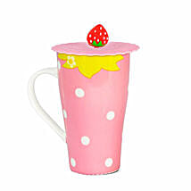 Strawberry Fruit Ceramic Mug: Children's Day Gifts