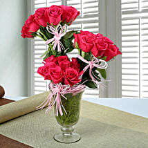 Stunning Rose Arrangement: Mothers Day Flowers