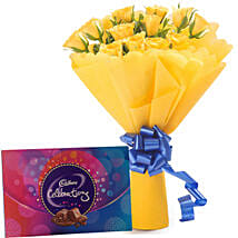 Style Celebration: Flowers & Chocolates for Birthday