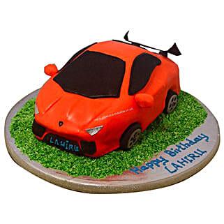 Stylish Lamborghini Cake: Designer Cakes to Noida