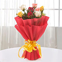 Sundry Mix Roses: Send Flowers to Thane
