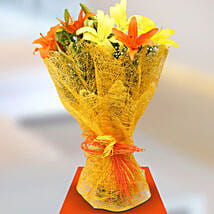 Sunshine Lillies: Wedding Flowers for Bride