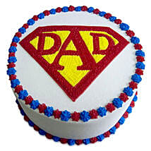 Super Cake For A Super Dad: Cake Delivery in Ajmer