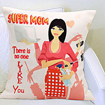 Super Mom Cushion: Mothers Day Gifts Panipat
