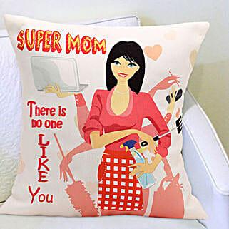 Super Mom Cushion: Mothers Day Gifts Vapi