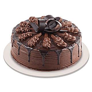 Swanky Chocolate Indulgence Cake: Designer cakes for anniversary
