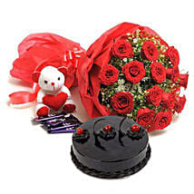 Sweet Combo For Sweetheart: Gifts to Hoshiarpur