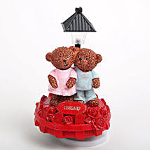 Sweet Friend Teddy Showpiece: Send Valentine Gifts to Surat