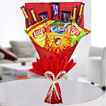 Sweet Munching Bouquet: Send Gifts to Jagran