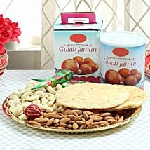 Sweet N Crunchy Delight: Karwa Chauth Gifts to Chandigarh