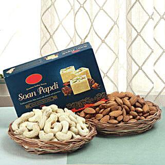 Sweet N Divine Hamper: Send Diwali Gifts to Hyderabad