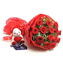 Sweet Romance: Flowers & Chocolates for Her