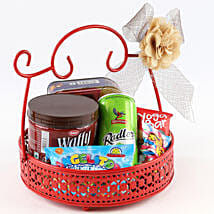 Sweet Snack Basket: Anniversary Sweets