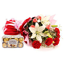 Sweetest Of All: Flowers N Chocolates - birthday
