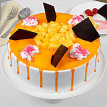 Tempting Summer Mango Fruit Cake: Send Cakes to Moradabad