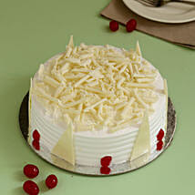 Tempting White Forest Cake: Cakes