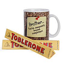 Toblerone and Mug Combo: Chocolate Delivery in Bangalore
