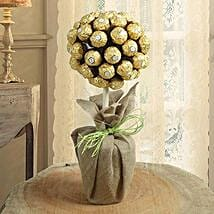 Topiary Chocolate Tree: Chocolate Bouquet for Kids