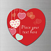 True Love Personalized Fridge Magnet: Heart Shaped Gifts for Valentine