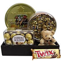 Twix Choco Hamper: Soft toys to Bengaluru