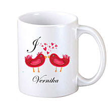 Two Loving Birds Coffee Mug: Send Personalised Mugs to Gurgaon