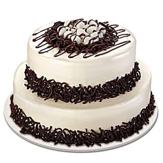Twosome Cream Cake: Designer cakes for anniversary