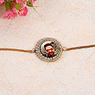 Unique Personalised Bracelet Rakhi: Send Personalised Rakhi