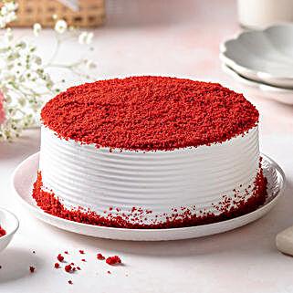 Red Velvet Fresh Cream Cake: Gifts to Raipur