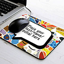 Vibrant Personalized Mouse Pad: Friendship Day Gifts to Patna